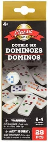 Dominos Double Six Color Dot by Greenbrier