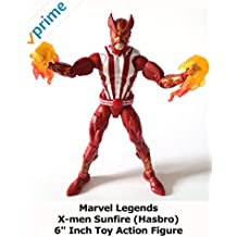 "Review: Marvel Legends X-men Sunfire (Hasbro) 6"" Inch Toy Action Figure"