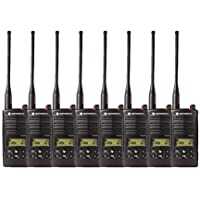 8 Pack of Motorola RDU4160d Two Way Radio Walkie Talkies
