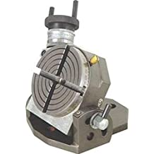 """OMEX New Tilting Rotary Table 4"""" / 100Mm For Milling Machines - Quality Table"""