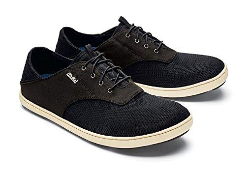 OLUKAI Nohea Moku Shoes - Men's 9 D(M) US|Onyx/Onyx