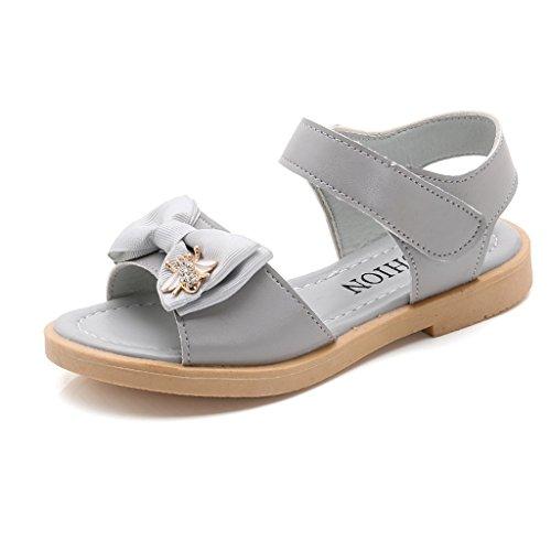 fleurs d'été giy filles solides bout sandales bout solides ouvert été sandales de sport extérieur de fleurs occasionnels (bé bé / enf ant) 23aa2f