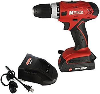 Mosta Cordless Drill/Driver 18V Lithium-Ion-LT18SB2A Kit