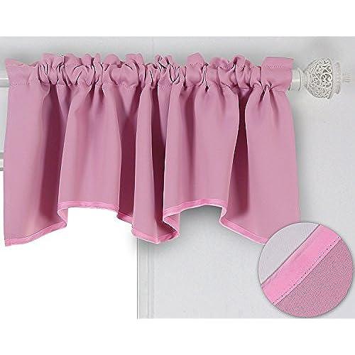 Pink Valances: Amazon.com