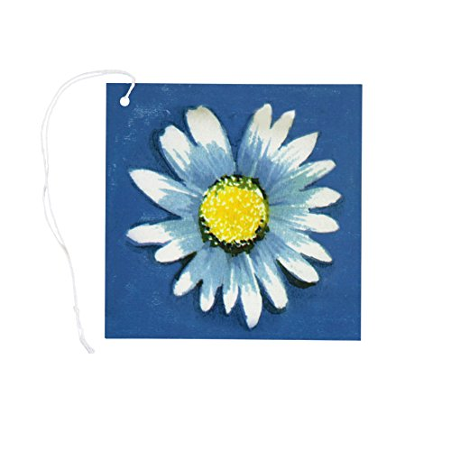 Iconikal Cardstock Tie-On Gift Tags 64-Count, Daisy