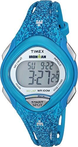 Ironman Timex Mid 30 Lap - Timex Women's Ironman 30-Lap Mid Size Sleek Core Turquoise 3 One Size