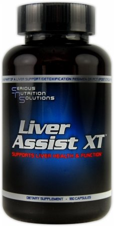 Serious Nutrition Solution Liver Assist XT Capsules, 180 Count