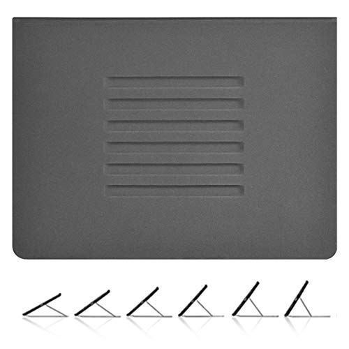 iPad 7th Generation Case 10.2-Inch 2019 Also Fit iPad Air 3rd 10.5, iPad Pro 10.5 2017, Multiple Angles Magnetic Stand Cover with Apple Pencil Holder & Minimalist Pocket + Auto Wake/Sleep (Grey)