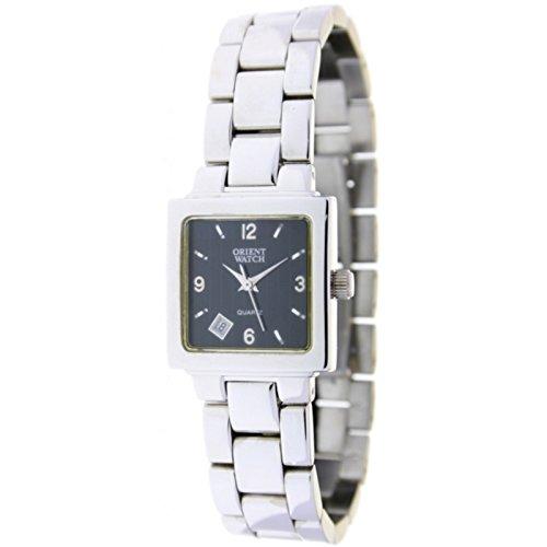 Orient Watch L-58954-f Reloj Analogico Para Mujer Caja De Acero Inoxidable  Esfera Color Negro  Amazon.es  Relojes b5b307bd05b6