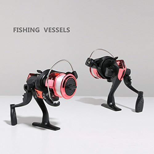 Walsilk spinning fishing rod and reel combo full kit bonus for Kids fishing gear