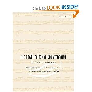 The Craft of Tonal Counterpoint Thomas Benjamin