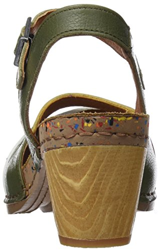clearance very cheap Art Women's 1115 Memphis I Laugh Closed Toe Sandals Green (Kaki Kaki) discount affordable t08Tkd722