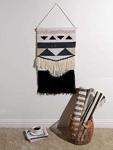 Best Home Fashion Mason Woven Wall Hanging ()
