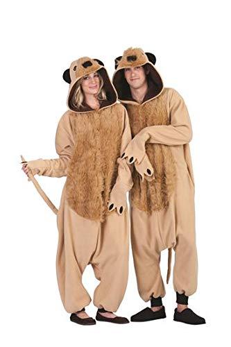 (RG Costumes Men's Micah Meerkat, Tan, One)