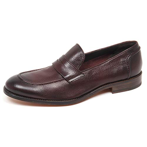 CARACCIOLO Vintage Marrone Brown Uomo Shoe Effect Man 1971 Scarpe E8788 Mocassino Loafer gqwYCgr