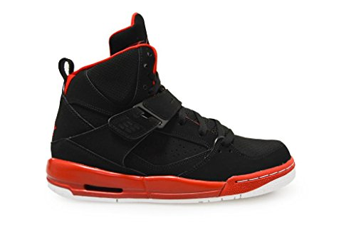 Nike Jungen Jordan Flight 45 High IP BG Basketballschuhe Black/Red