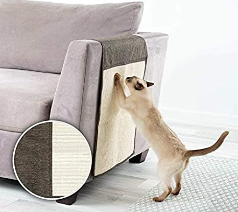 Amazon.com: FRISKY FRIENDS Cat Scratching Pad Furniture ...