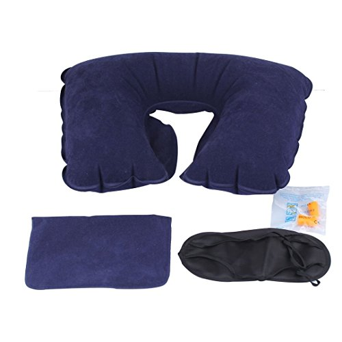 Twist Memory Foam Travel Pillow For Neck Chin Lumbar And
