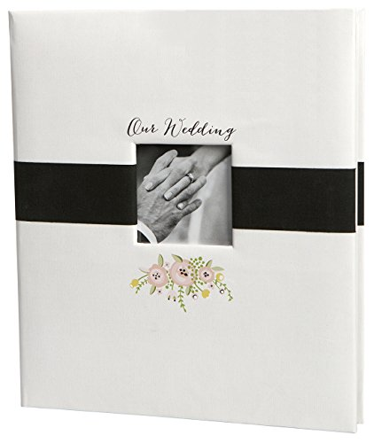 "C.R. Gibson True Love Loose Leaf Wedding and Memory Photo Album, 10"" W x 12"" H"