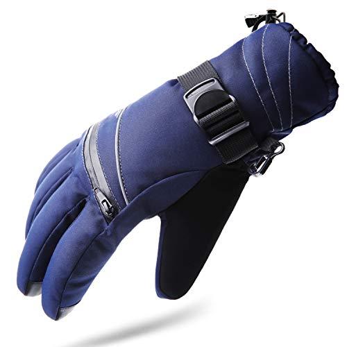 Tempotrek Ski Gloves for Men & Women Waterproof Touchscreen, Best Winter Gloves Fit for Snowboard Snowmobile
