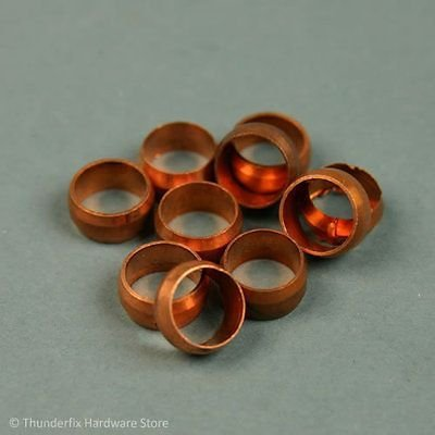 8mm Copper Olive PACK OF 5