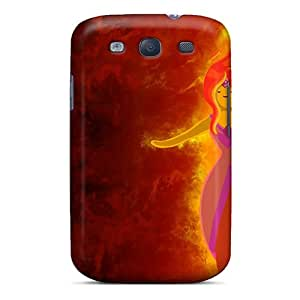 Galaxy S3 Case Cover Skin : Premium High Quality Flame Princess Adventure Time Case