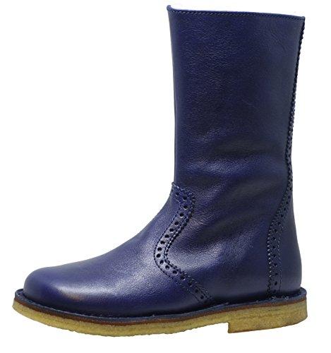 Blau Bottes Boots Navy A06–658 nbsp;Unisexe d'Oro 2560 Zecchino Enfants wCYqfnp