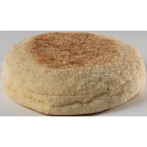 European Bakers 100 Percent Whole Wheat English Muffin - 72 per case.