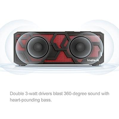 Inateck Portable Hi-Fi Wireless Bluetooth 4.0 Speaker ?