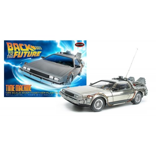 Lights Snap Polar (Polar Lights Back to The Future: Time Machine Model Kit (1:25 Scale))