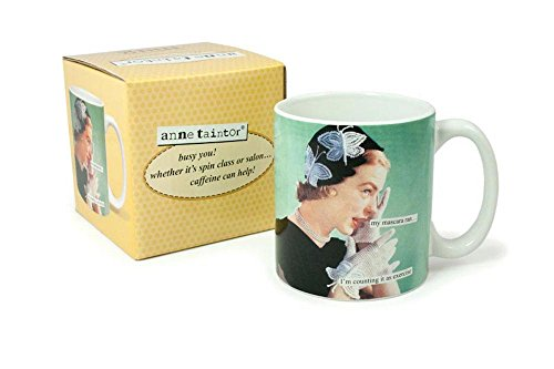 Anne Taintor Coffee Mug Counting product image