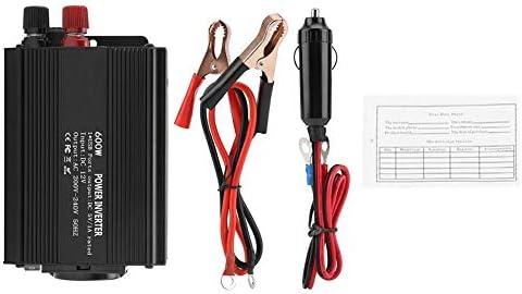 Mavis Laven Korrektur Sinus-Wechselrichter 12-V-Wandler 220-V-600-W-Wechselrichter mit Solarpanel zur Erzeugung von Windkraft, Solarenergie, umweltfreundlicher Stromerzeugung usw.