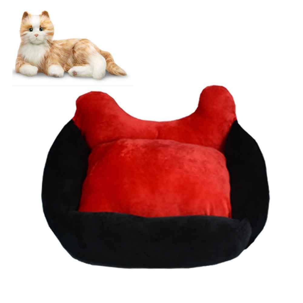 ACLBB Cute pet mat and sofa, thicker pet bed, warm winter dog cover and cat cover 77  65  30cm