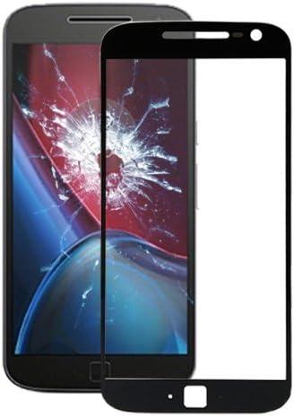 alsatek Repuesto para Cristal Frontal para Motorola Moto G4 Plus/xt1640/xt1642/xt1644 Negro: Amazon.es: Electrónica
