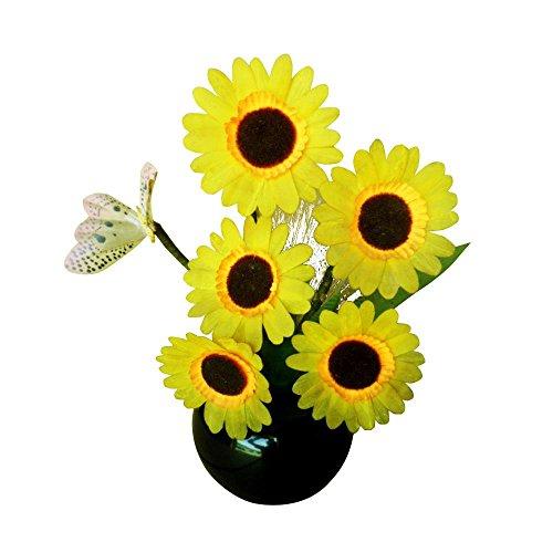 Lightahead Flowers Centerpieces Indoor Sunflower
