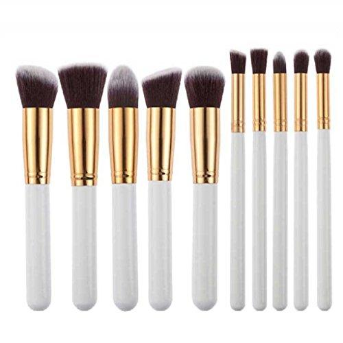 Makeup Brush, Tonsee 10pcs Makeup Brushes Set Powder Foundation Eyeshadow Tool