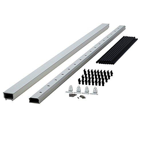 Fiberon Horizon 8 ft  x 3 5 ft  White Capped Composite Stair