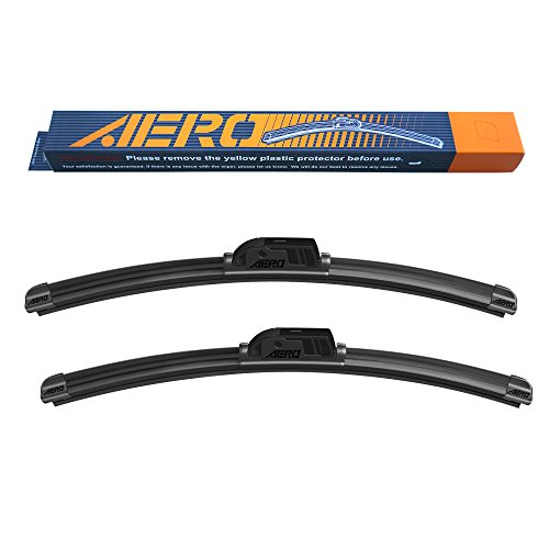AERO Premium All-Season Beam Windshield Wiper Blades Replacement for Chevrolet Equinox 2017-2010 24