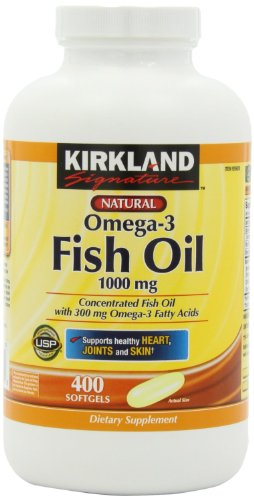 Usa free shipping kirkland signature natural fish oil for Kirkland fish oil review