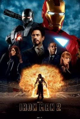 Iron Man 2 Filmscore Comic Book Superhero Movie Poster