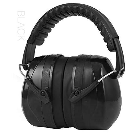 Orejeras de seguridad cómodas, Orejeras, ruido, seguridad, protección auditiva, plegado ajustable, reducción de ruido, orejeras, adecuados para trabajos de ...