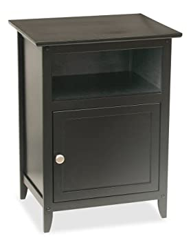 Accent Night Stand, Black