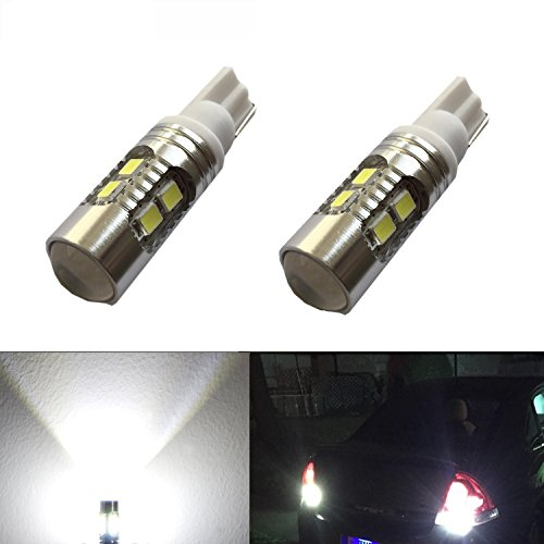 JDM ASTAR Super Bright AX-2835 Chipsets 912 921 LED Bulbs For Backup Reverse Lights, Xenon White (Only used for...