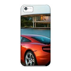 New Premium BeverlyVargo Mclaren Mp4 Orange Skin Cases Covers Excellent Fitted For Iphone 5c