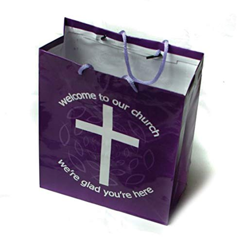 (Fun Express WELCOME TO OUR CHURCH GIFT BAGS (1 DOZEN) - BULK)