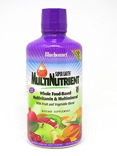 Bluebonnet Super Earth Multi-Nutrient Formula, Tropical Fruit, 32 Fluid Ounce For Sale