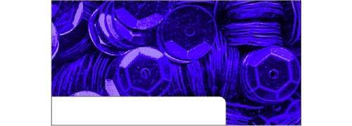Pailletten Metallic im Blister 1400 St/ück /ø 6mm Purple Purple
