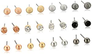 Multi Post Stud Earrings