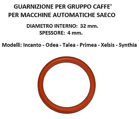 sello de junta t/órica 32x4 adecuado para Unidad De Cafetera Saeco Vienna Magic etc/étera