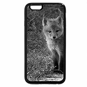 iPhone 6S Case, iPhone 6 Case (Black & White) - Why did the fox cross the road